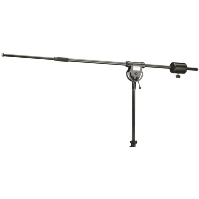 K&M 21231B Extra Long Boom with Counter Weight - Length: 114.3 - 205.74cm (Black)