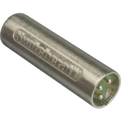 Switchcraft 3-Pin Male To Male XLR Adapter