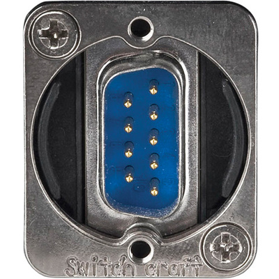 Switchcraft EH Series 9-Pin D-Sub Male to Female (Nickel)