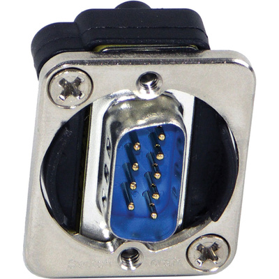 Switchcraft EH Series 9-Pin D-Sub Male to Male (Nickel)
