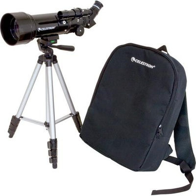 Celestron Travel Scope 70mm f/5.7 AZ Refractor Telescope Kit