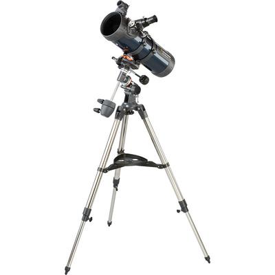 "Celestron AstroMaster 114 EQ 4.4""/114mm Reflector Telescope Kit"