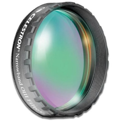 "Celestron Oxygen III (OIII) Narrowband 48mm Filter (Fits 2"" Eyepieces)"