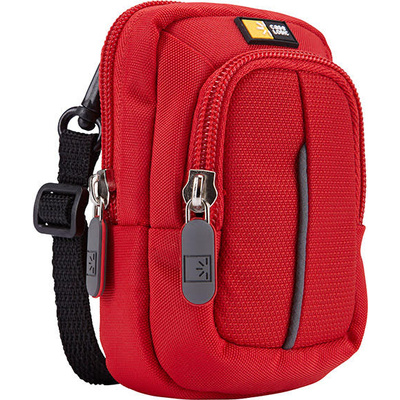 Case Logic DCB-302 Compact Camera Dual-Pocket Case (Red)