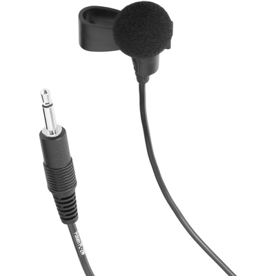 "Polsen PL-2W Omnidirectional Lavalier Microphone with 1/8"" (3.5 mm) Connector"
