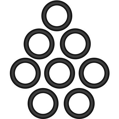 Polsen Replacement Shock Mount Bands For VM-180M (8-Pack)
