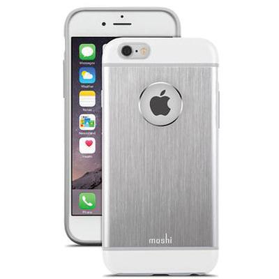 Moshi iGlaze Armour Case for iPhone 6 (Jet Silver)