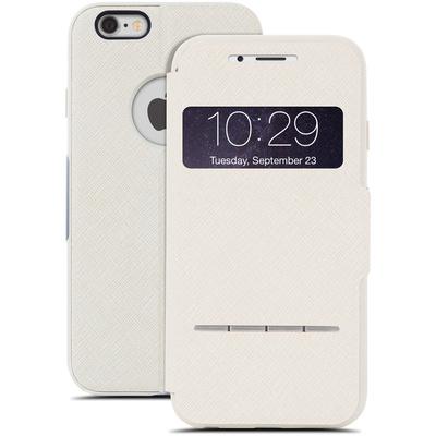 Moshi SenseCover Touch-Sensitive Flip Case for Apple iPhone 6 (Sahara Beige)