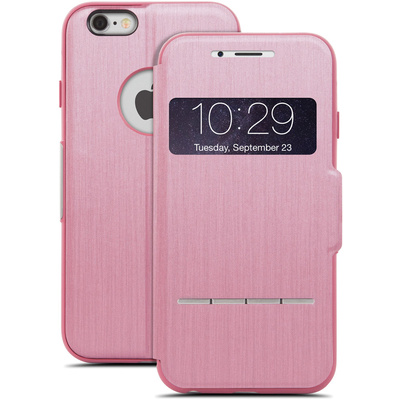 Moshi SenseCover Touch-Sensitive Flip Case for Apple iPhone 6 Plus (Rose Pink)