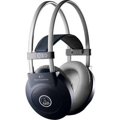 AKG K77 Circumaural Closed-Back Stereo Headphones