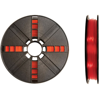 MakerBot 1.75mm PLA Filament (Large Spool, 2 lb, Translucent Orange)