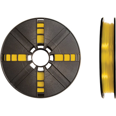 MakerBot 1.75mm PLA Filament (Large Spool, 2 lb, Translucent Yellow)