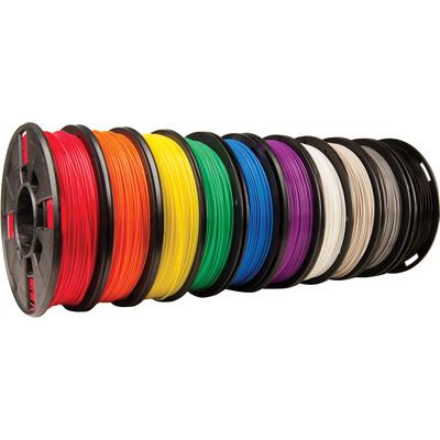 MakerBot 1.75mm PLA Filament (Small Spool, 10-Pack)