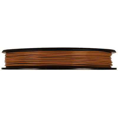 MakerBot 1.75mm PLA Filament (Small Spool, 0.5 lb, True Brown)