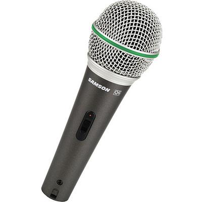 Samson Q6 Hypercardioid Handheld Microphone