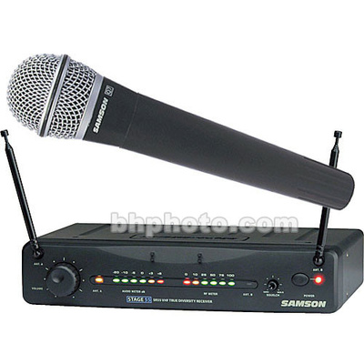 Samson Stage 55 Handheld Wireless Microphone System (Channel 20)