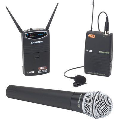 Samson UM1/77 Videographer Combo Pack Wireless System (N2 Frequency)