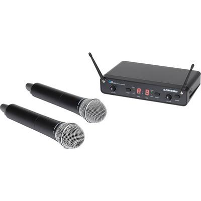 Samson Concert 288 SWC288HQ6 Dual Handheld 16-Channel True Diversity Wireless System (UHF I-Band)