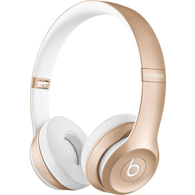 Beats by Dr. Dre Solo2 Wireless On-Ear Headphones (Gold)