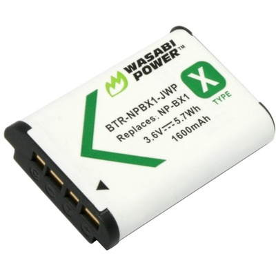 Wasabi Power Battery for Sony NP-BX1
