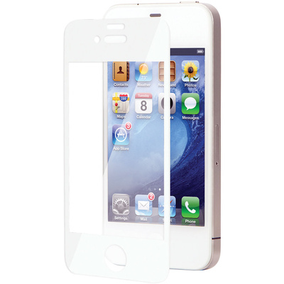Moshi iVisor XT Screen Protector for iPhone 4/4S (White)