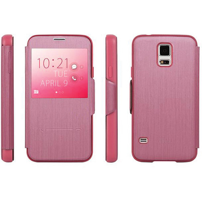 Moshi SenseCover Touch Sensitive Flip Case for Samsung Galaxy S5 (Pink)