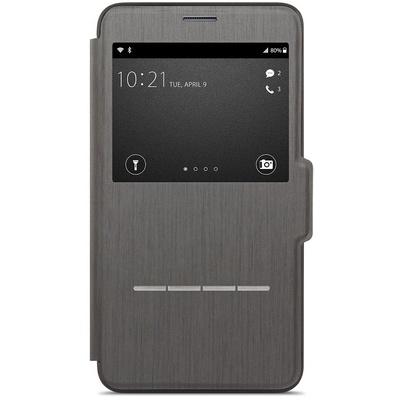 Moshi SenseCover Touch-Sensitive Flip Case for Samsung Galaxy Note 4 (Black)