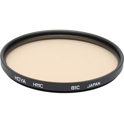Hoya 46mm 81C Color Conversion (HMC) Multi-Coated Glass Filter