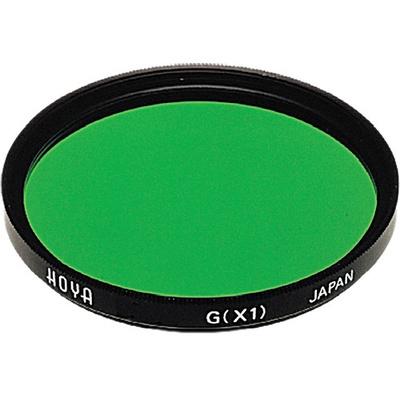 Hoya 49mm Green X1 (HMC) Multi-Coated Glass Filter for Black & White Film