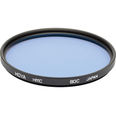 Hoya 55mm 80C Color Conversion (HMC) Multi-Coated Glass Filter