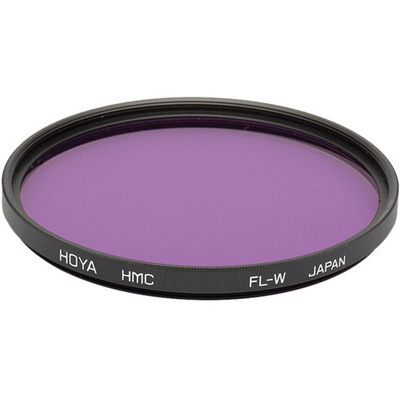 Hoya 58mm FL-W Fluorescent Hoya Multi-Coated (HMC) Glass Filter for Daylight Film