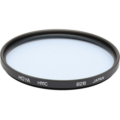 Hoya 77mm 82B Color Conversion (HMC) Multi-Coated Glass Filter