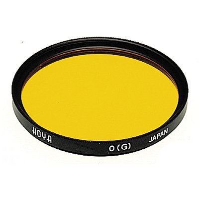 Hoya 82mm Orange G (HMC) Multi-Coated Glass Filter for Black & White Film
