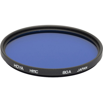 Hoya 82mm 80A Color Conversion Hoya Multi-Coated (HMC) Glass Filter