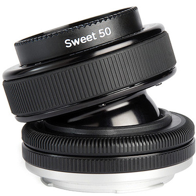 Lensbaby Composer Pro with Sweet 50 Optic for Micro Four Thirds Cameras
