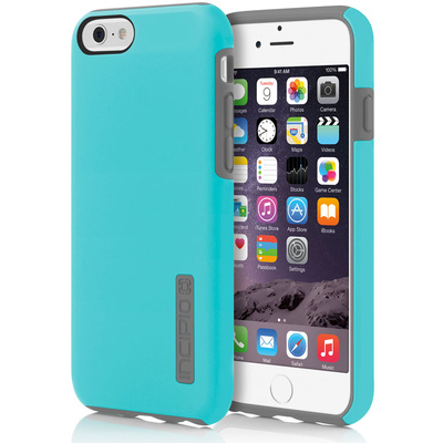 Incipio DualPro Case for Apple iPhone 6 Plus (Cyan/Charcoal)