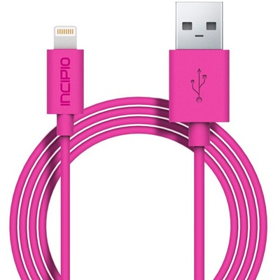 Incipio Lightning Charge/Sync Cable (Pink)