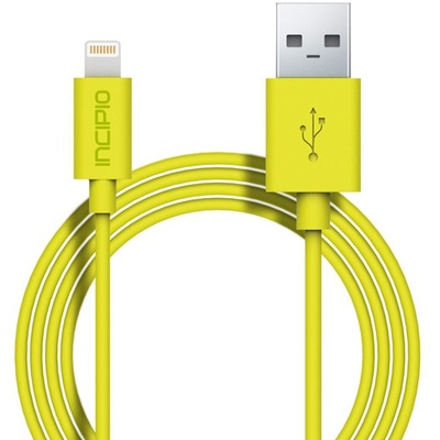 Incipio Lightning Charge/Sync Cable (Yellow)