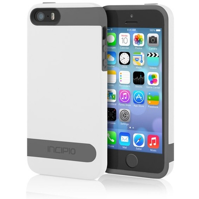 Incipio OVRMLD for iPhone 5/5S (White/Grey)
