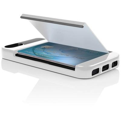 Incipio Stowaway for iPhone 5/5S (White/Grey)