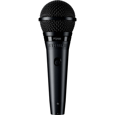 "Shure PGA58 Dynamic Vocal Microphone (XLR to 1/4"" Cable)"