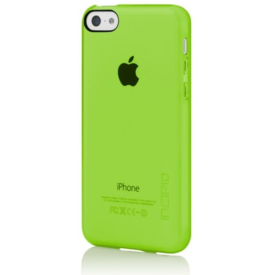 Incipio Feather Clear for iPhone 5C (Lime Green)