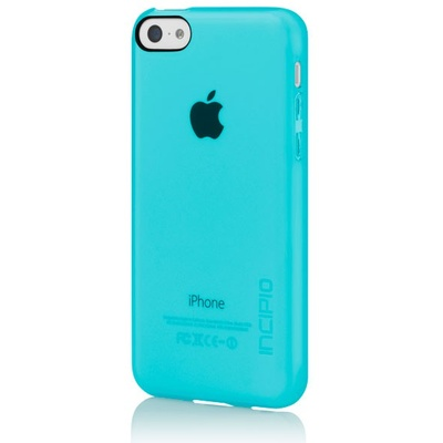 Incipio Feather Clear for iPhone 5C (Turqoise)