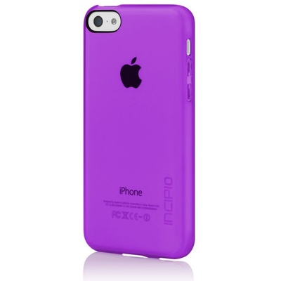 Incipio Feather Clear for iPhone 5C (Purple)