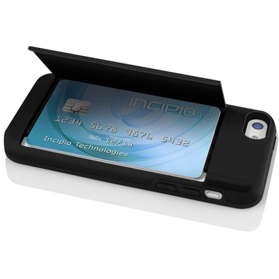 Incipio Stowaway for iPhone 5C (Black)