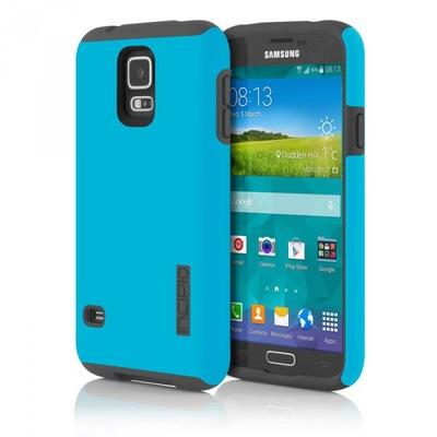 Incipio DualPro for Samsung Galaxy S5 (Cyan/Grey)