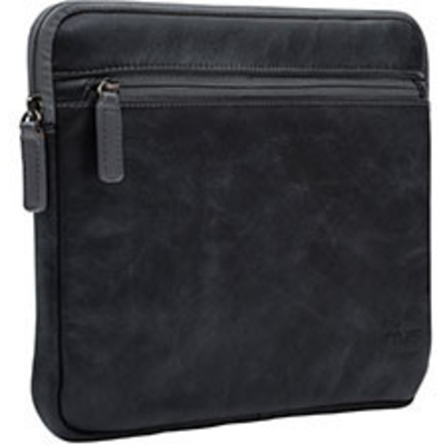 """NVS Premium Leather Sleeve for 13"""" (Black)"""