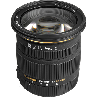 Sigma 17-50mm f/2.8 EX DC HSM Zoom Lens for Sony DSLRs with APS-C Sensors