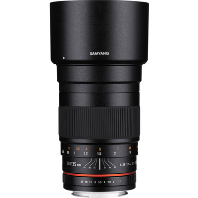 Samyang 135mm f/2.0 ED UMC Lens for Nikon F Mount with AE Chip