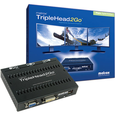 Matrox TripleHead2Go Digital Edition External Graphics eXpansion Module